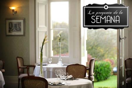 ¿Seguís algún criterio especial a la hora de elegir un restaurante? La pregunta de la semana