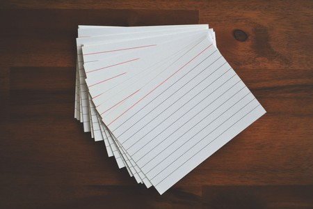 Blank Cards Composition Data 268351