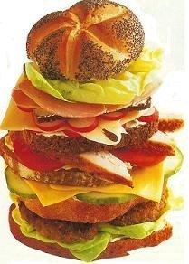 El gran sándwich piramide