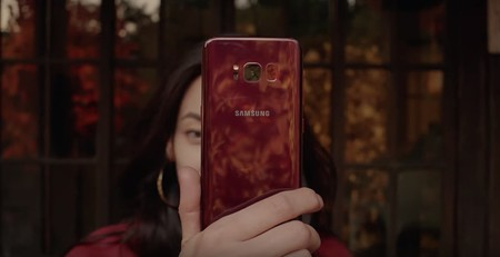 Samsung Galaxy S8 Burgundy Rojo