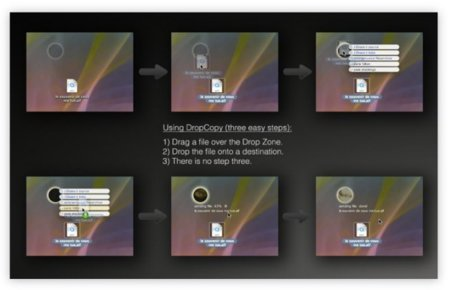 DropCopy, el Air Drop universal para cualquier Mac sea Intel o PowerPC