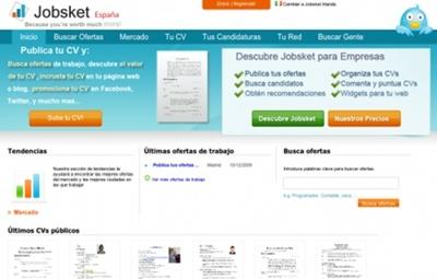 Jobsket mejora la plataforma y añade suscripción para empresas