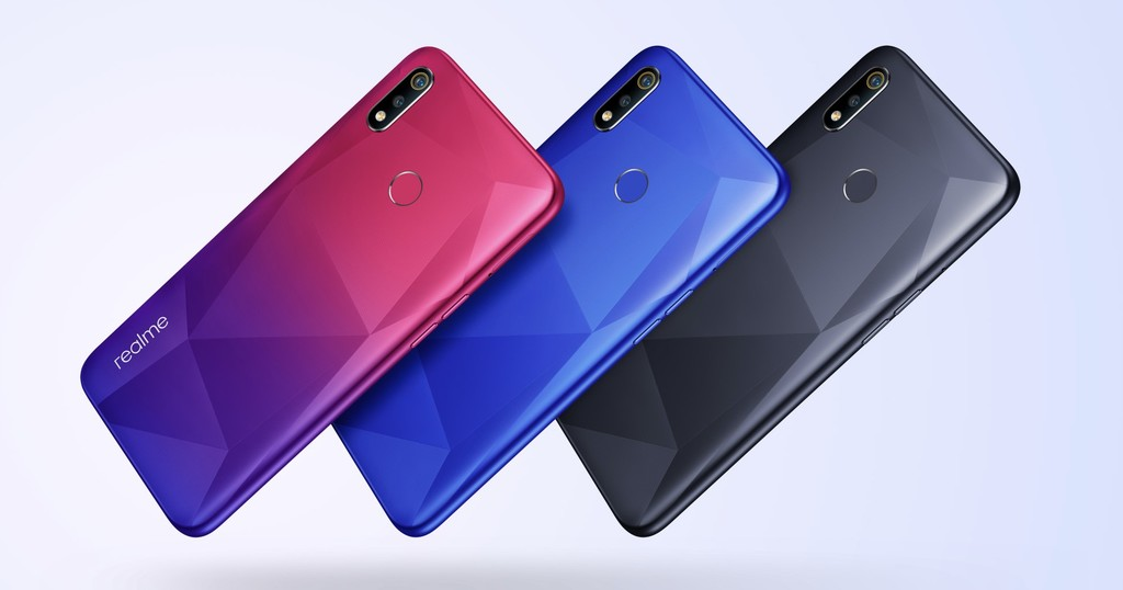 Realme 3i: battery 4.230 mAh and great use front to conquer the entry range
