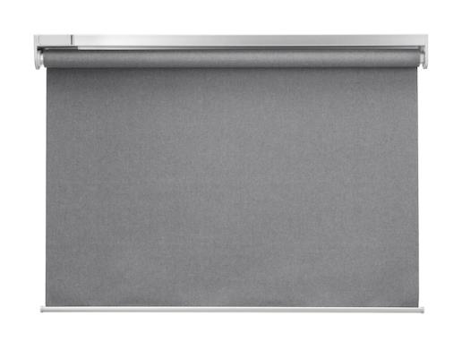 Estor opaco, inalámbrico/a pilas gris120x195 cm