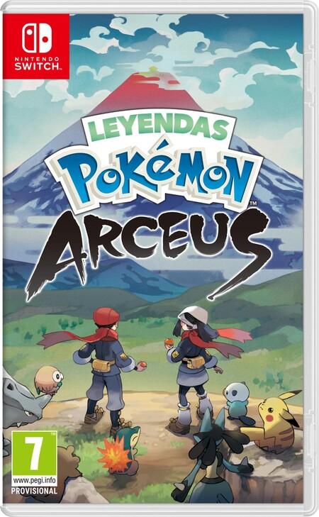 Pokemon Legends Arceus Cover