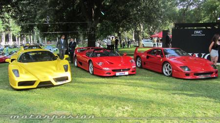 Ferrari F40, F50 y Enzo