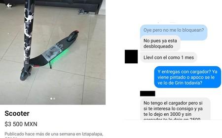 Scooter robado