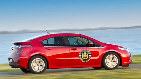 Opel Ampera, coche del año en Europa 2012