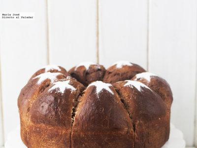 Choco King o roscón de chocolate. Receta de Navidad con y sin Thermomix