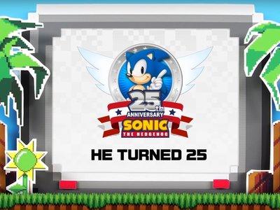 Sonic hace retrospectiva del año de su 25º aniversario con un vídeo
