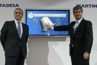 Martinsa-Fadesa suspende pagos, buenas noticias