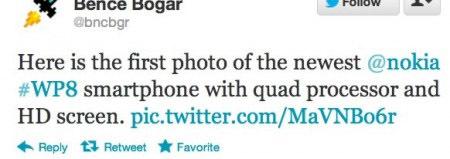 Nokia Lumia rumor twitter