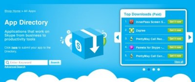 Skype estrena su propia App Store