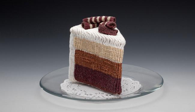 Comida ganchillo - tarta