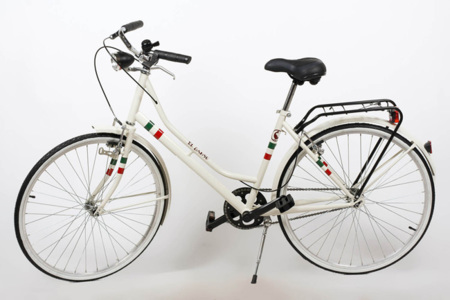 Bicicletas El Ganso con la bandera de Italia o Francia