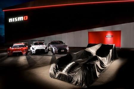 WEC: El Nissan GT-R LM Nismo LMP1 se deja ver por primera vez