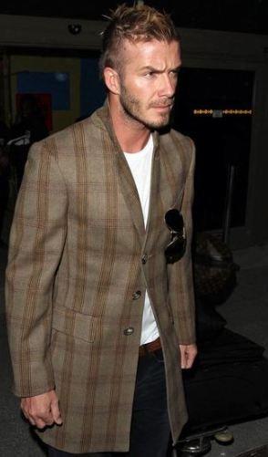 Consigue el look: David Beckham
