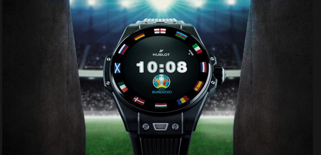 Hublot ya tiene su reloj con Wear OS para la Eurocopa: cuesta 5.700 euros e incluyen un NFT