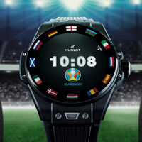 Hublot ya tiene su reloj con Wear OS para la Eurocopa: cuesta 5.700 euros e incluye un NFT