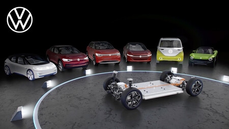 Todos los coches eléctricos del Grupo Volkswagen usarán la nueva plataforma SSP a partir de 2026