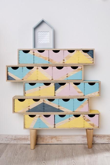 Cajas para ordenar pintadas DIY
