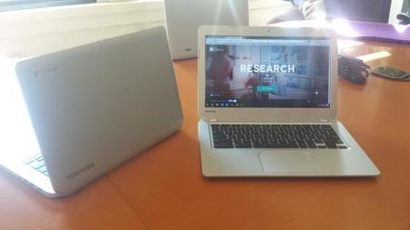Toshiba presentó su modelo Chromebook en el CES 2014