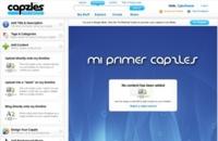 Capzles: imágenes, vídeos, audios y blogs mostrados al estilo dock online
