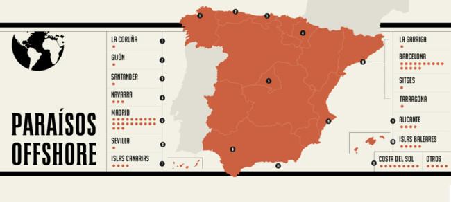 Mapa Espana Offshore