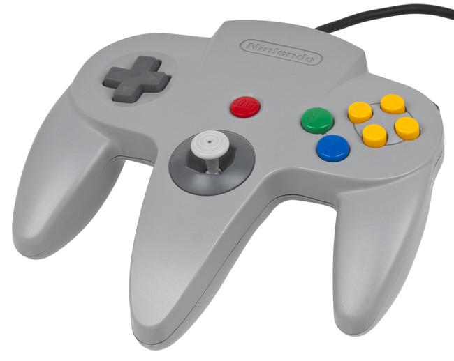 N64 Controller Gray