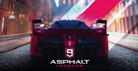 Asphalt nueve Legends