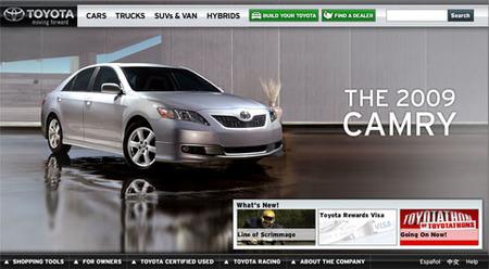 Web Toyota USA
