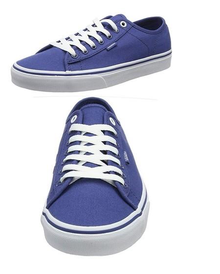 Tenemos las zapatillas Vans Ferris en color azul desde 24,64 euros en Amazon