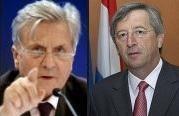 Trichet vs Juncker