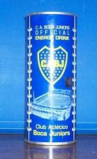 Boca Energy Drink, nueva bebida energetica del Club de Futbol Boca Juniors