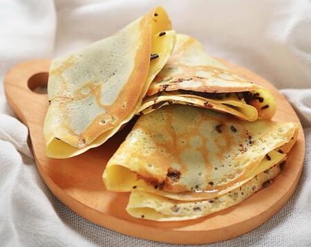 Crepa de queso de cabra con miel y nueces tostadas: una receta fácil de hacer con esta crepera de oferta en Amazon México