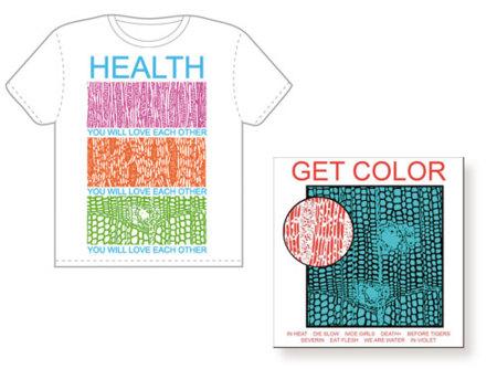 HEALTH lanzan su segundo disco en una camiseta con código de descarga