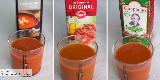Comparativa de gazpachos envasados - 3