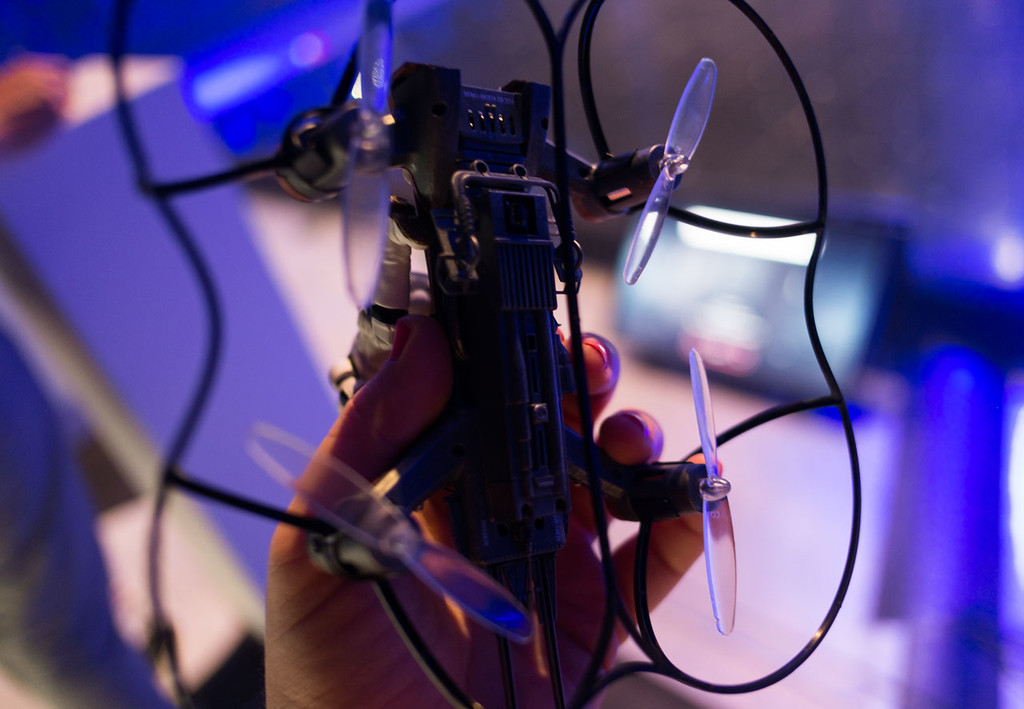 Propel Star Wars Dron Speedbike Helices