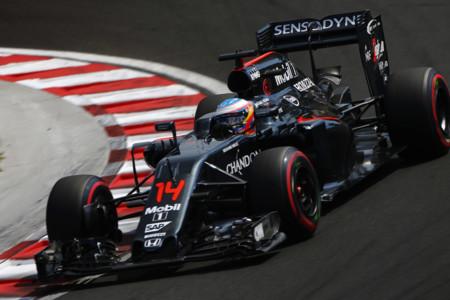 Alonso Hungria 2016 Race