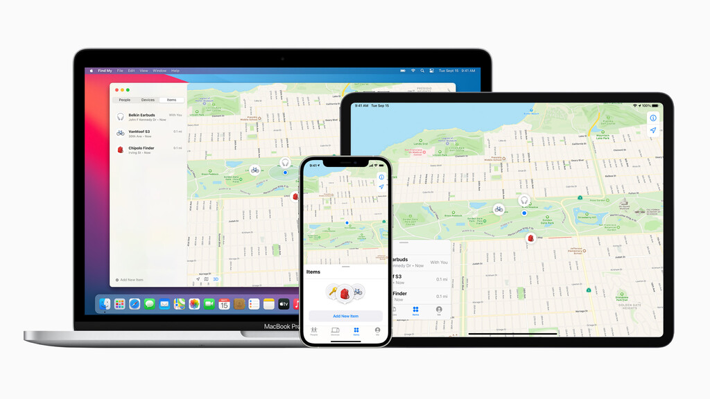 Ya es oficial: Apple™ íntegro su nueva red Buscar con accesorios de terceros