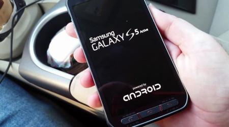 Aparece en video el Samsung Galaxy S5 Active