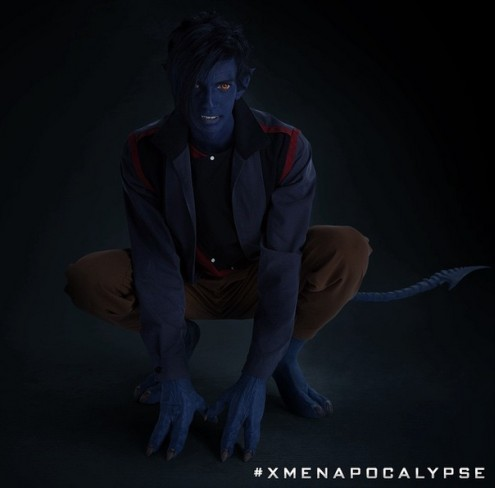 Kodi Smit-McPhee como Rondador Nocturno en X-Men: Apocalipsis