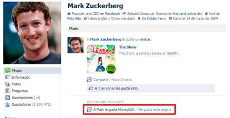 El efecto Mark Zuckerberg en Facebook (o cómo una página puede ganar casi 3000 fans en una hora)