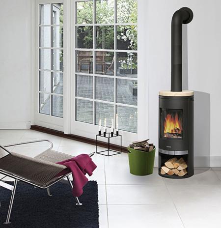 Chimeneas y estufas todas las opciones para dar calor al - Estufas sin chimenea ...