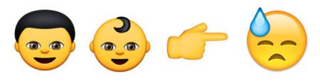 Emojis amarillos