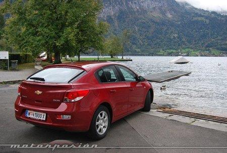 Chevrolet Cruze HB5, presentación y prueba en Suiza (parte 1)