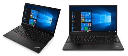Lenovo ThinkPad E14 y E15: los nuevos procesadores AMD Ryzen 4000 llegan a esta gama de portátiles más asequibles