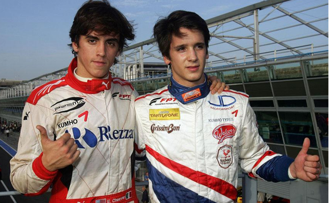 Eddie Cheever Jr Riccardo Agostini F3 Italiana