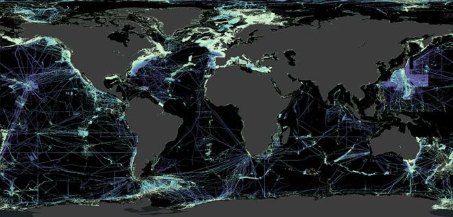 Ya hemos conseguido mapear con detalle (y poner en dominio público) el 19% del fondo marino de la Tierra: no está siendo nada sencillo