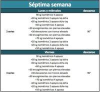 Apúntante al reto de abdominales isométricos: Semana 7 (IX)